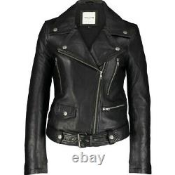 BNWT RRP 950 womens EACH X OTHER LEATHER JACKET butter soft size XL uk 16