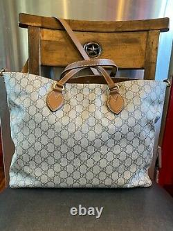 Gucci GG Supreme Embroidered Blind for Love Soft Tote Limited Edition