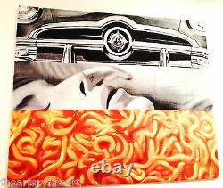 JAMES ROSENQUIST'I Love You with My Ford' 1961/2014 HUGE Beach Towel Ltd Ed NEW