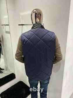LORO PIANA Horsey Wind Soft Quilted Vest Size 54 / XL (100% Authentic & New)