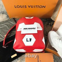 Louis Vuitton x World Cup Apollo Backpack M52117 In Red & White RRP £3750