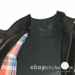 Mens Panther leather jacket Benjamin Field Motorbike New Soft Military for Gents