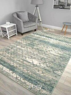 Mint Green Rugs Small Extra Large Living Room Soft Floor Carpets Abstract Thick