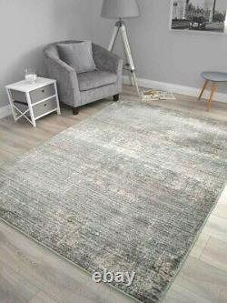 New Mint Green Grey Living Room Rugs Small Extra Large Floor Carpets Soft Thick