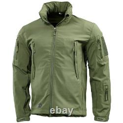 Pentagon Artaxes Soft Shell Military Tactical Mens Jacket Hunting Olive Green OD