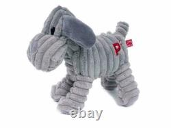 Petface Puppy Toy, Freddi Cord Dog Toy, Cute Soft Squeaky Toy for Dogs