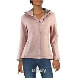 Reebok Women's Lightweight Cinched Back Hooded Active Soft Shell Jacket