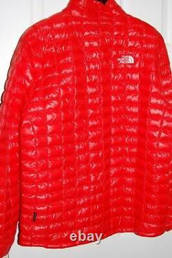 The north face men's thermoball eco soft shell jacket fiery red XL NEW