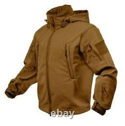 US Special Spec OPS Softshell Army Tactical Soft Shell Jacke Jacket Coyote XL